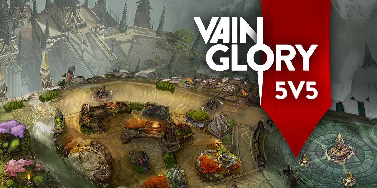 For those who don't know, Vainglory is a mobile MOBA (your typical  three-lane map game similar to DoTA 2 and LoL). The game features 3M+  polygons, ...