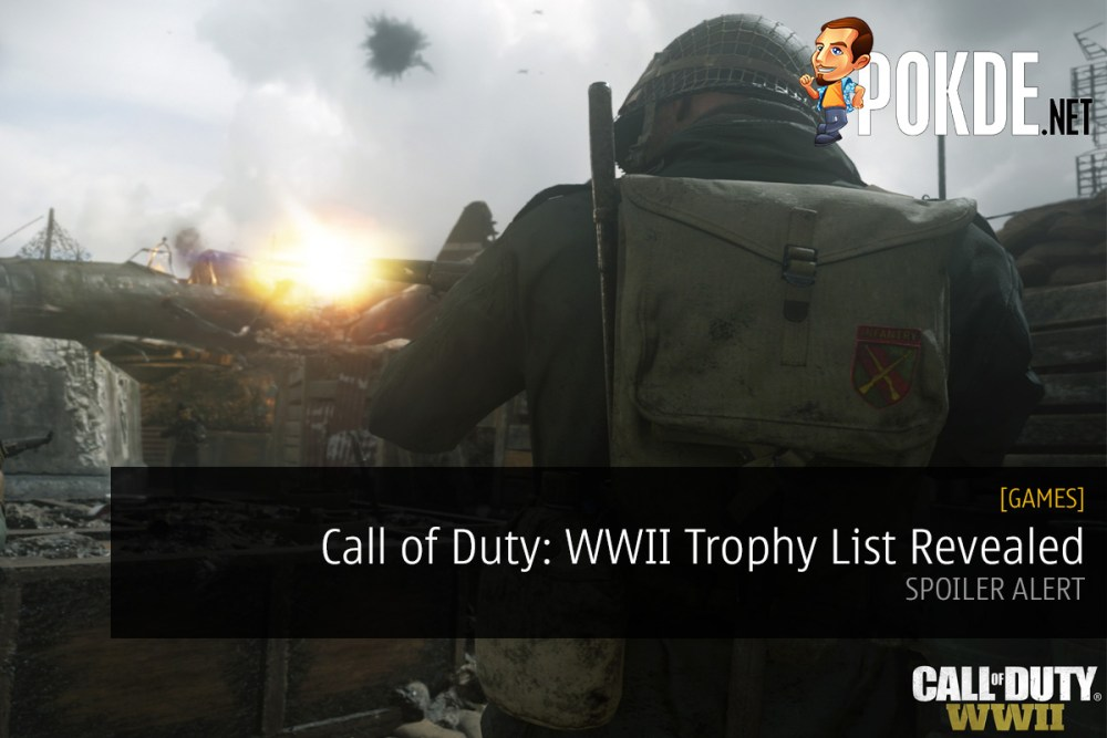 Call of Duty: WWII Trophy List Revealed