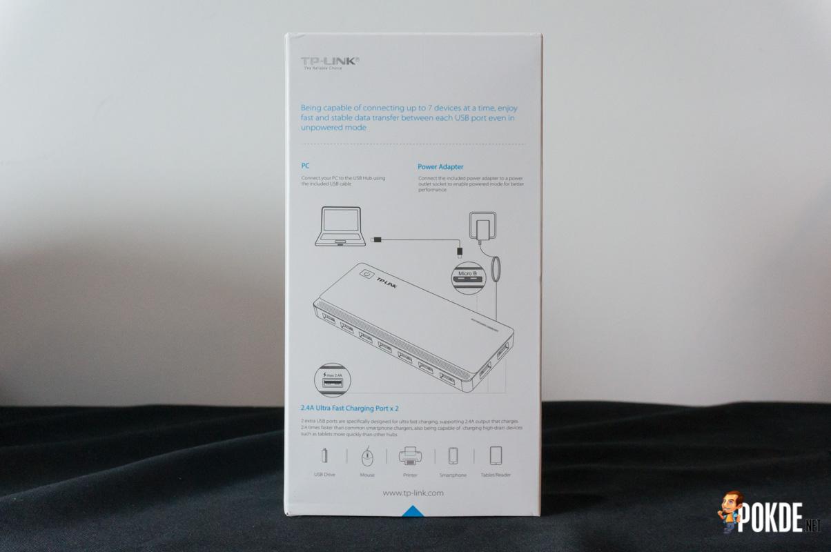 TP-Link UH720 7-Port USB 3 0 Hub review