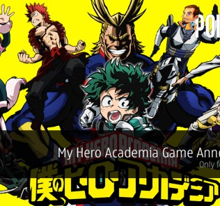 My Hero Academia Game Announced