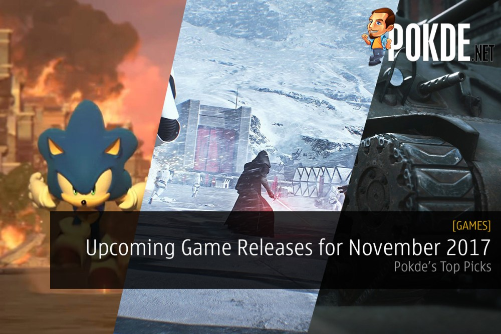 Top Picks: Upcoming Game Releases for November 2017