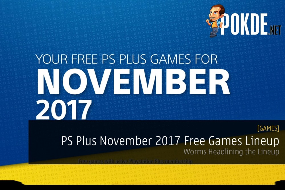 PS Plus November 2017 Free Games Lineup