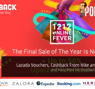 Get Exclusive Lazada Vouchers, Cashback From Nike and Taobao and Many More Via ShopBack This 12.12! 25