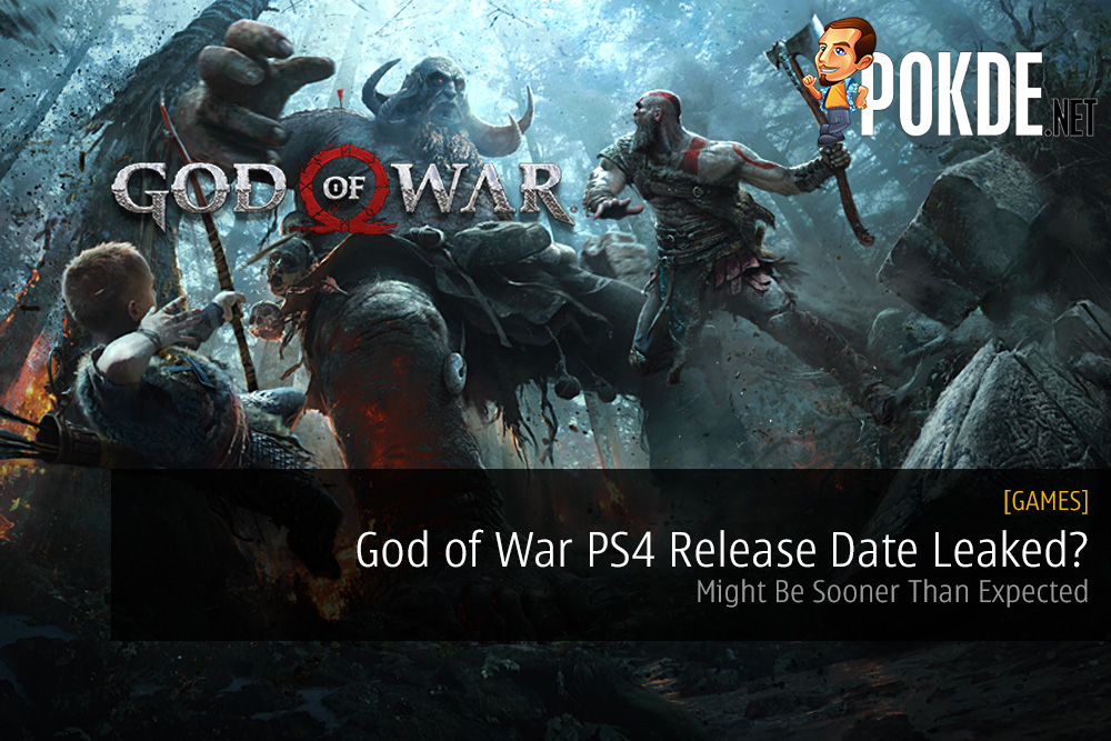 God Of War PS4 Release Date Leaked Might Be Sooner Than