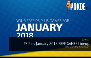PS Plus January 2018 FREE GAMES Lineup