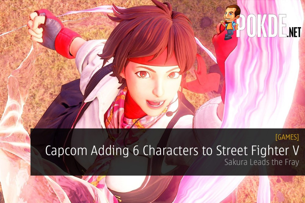 Capcom Adding 6 Characters to Street Fighter V