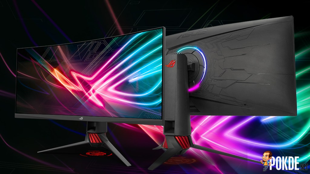 ROG Strix XG32VQ and XG35VQ announced; huge gaming monitors with FreeSync and Aura Sync! 33