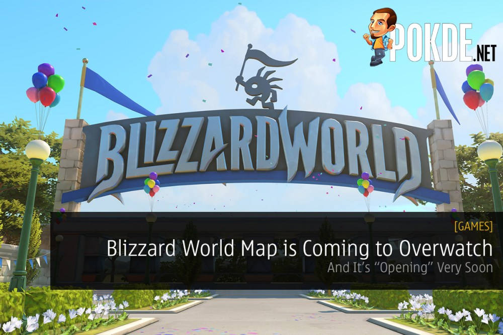 Blizzard World Map Is Coming To Overwatch And It S Opening Very