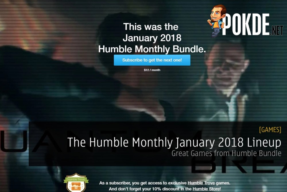 The Humble Monthly January 2018 Lineup