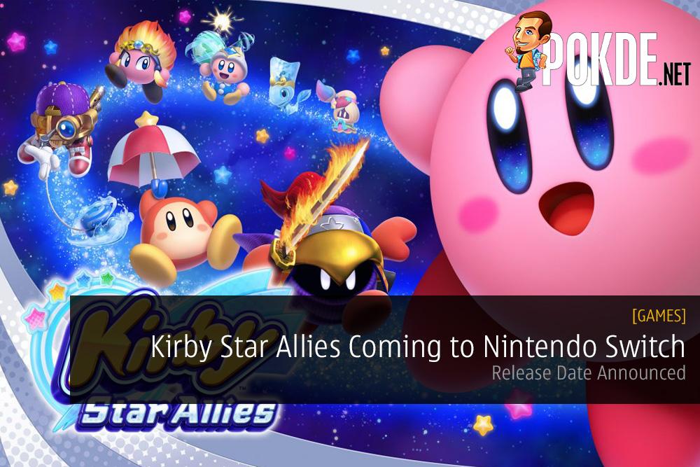 Kirby Star Allies Coming to Nintendo Switch Nintendo Direct Mini