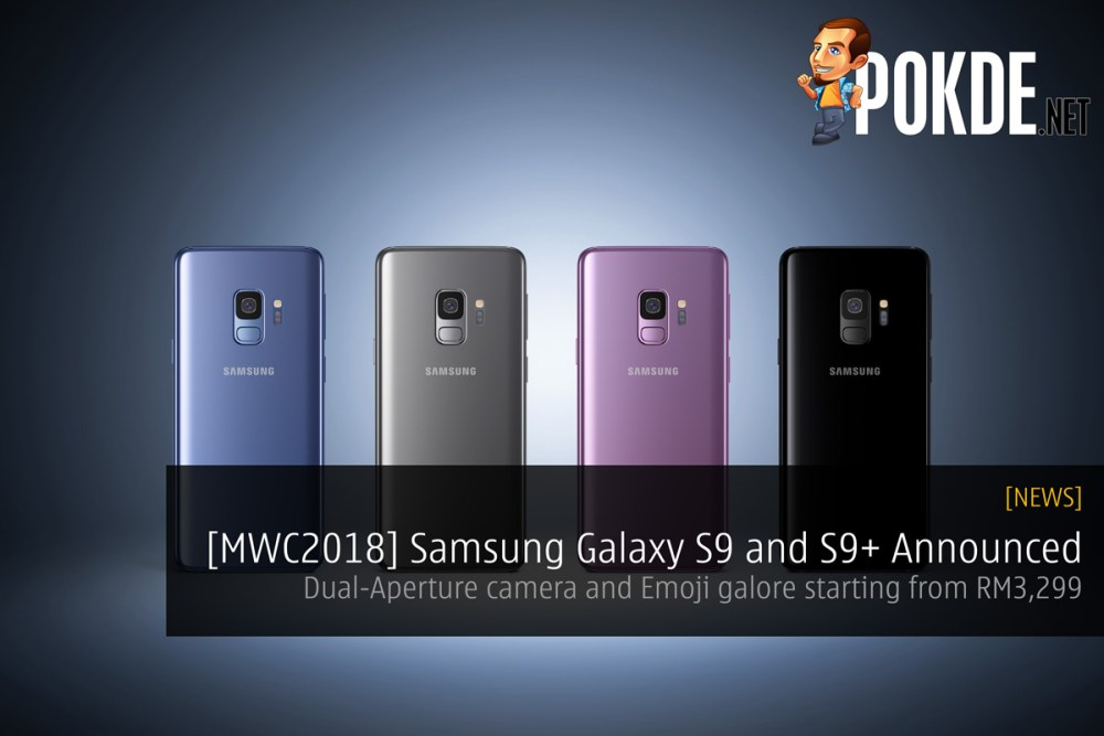 MWC2018] Samsung Galaxy S9 and S9+ Announced - Dual-Aperture