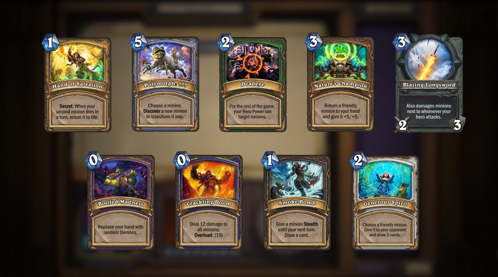 Blizzard Talks About Upcoming Hearthstone Update