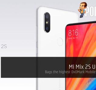 Mi Mix 2S Unveiled - Bags the highest DxOMark Mobile score ever! 30