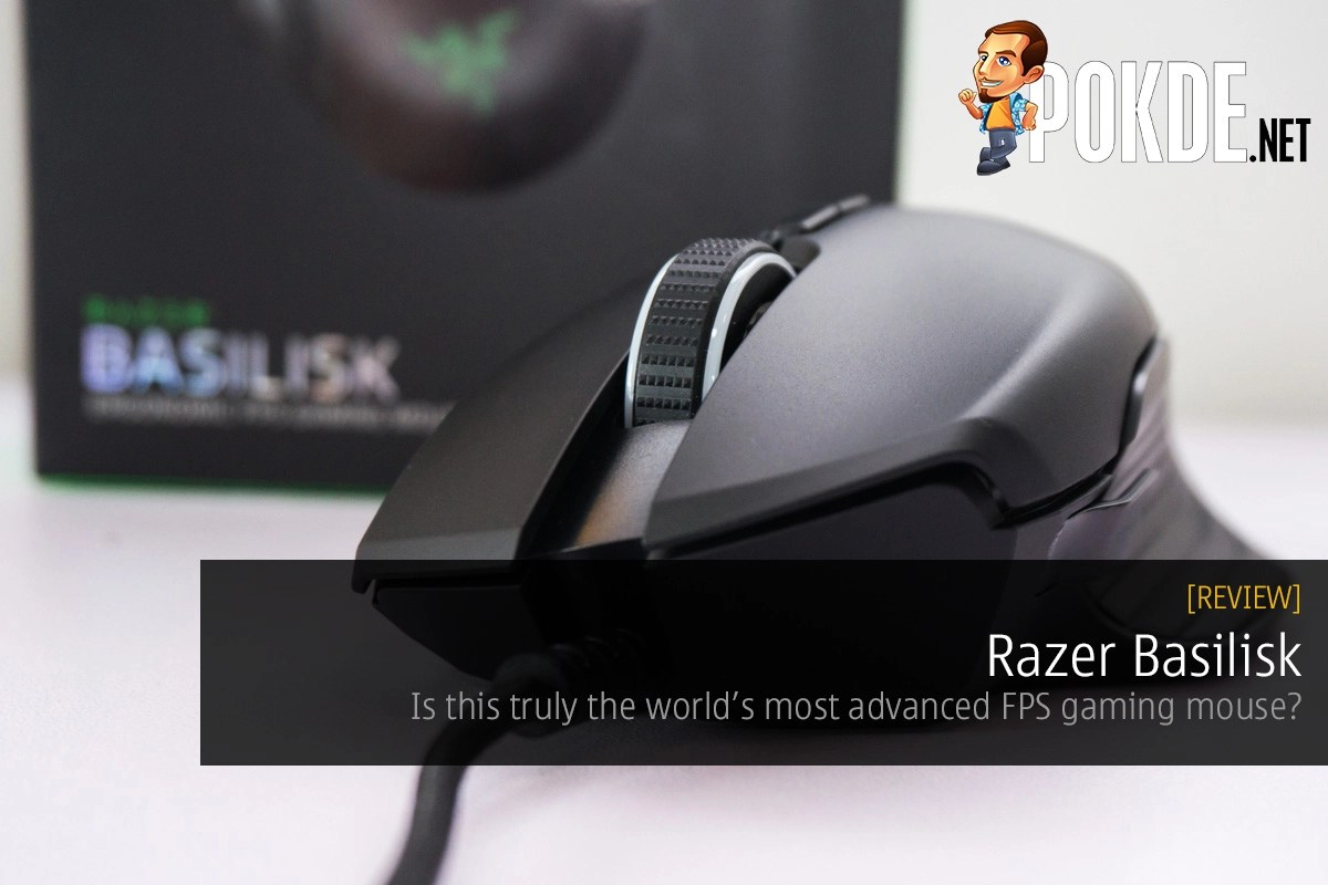 Razer Basilisk FPS Gaming Mouse review — is this truly the world's