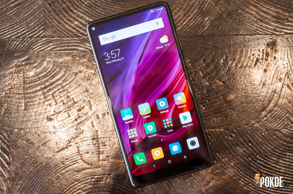 Xiaomi Mi MIX 2 review — this is one fast beauty! – Pokde