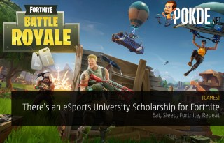 There's an eSports University Scholarship for Fortnite