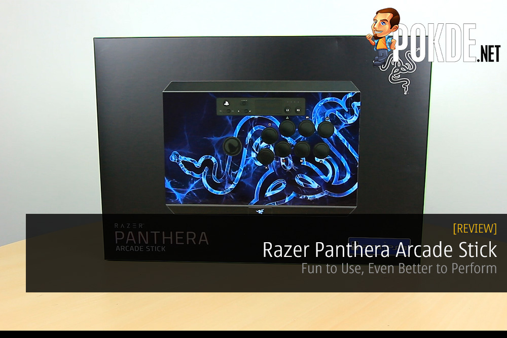 Razer Panthera Arcade Stick Review