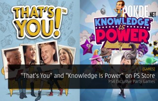 """That's You"" and ""Knowledge is Power"" Released on PS Store - PS4 Exclusive Party Games"