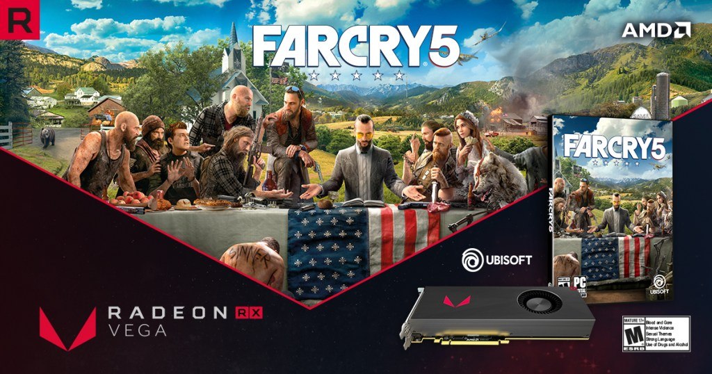 AMD Radeon RX Vega Customers Will Be Getting Far Cry 5 For FREE 24