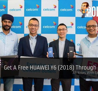 Get A Free HUAWEI Y6 (2018) Through Celcom - All Yours With Celcom FIRST 25