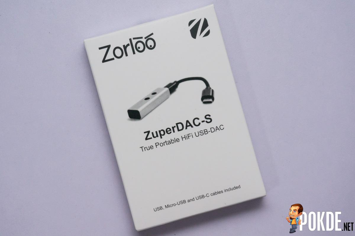 Zorloo ZuperDAC-S Truly Portable HiFi USB DAC review – Pokde