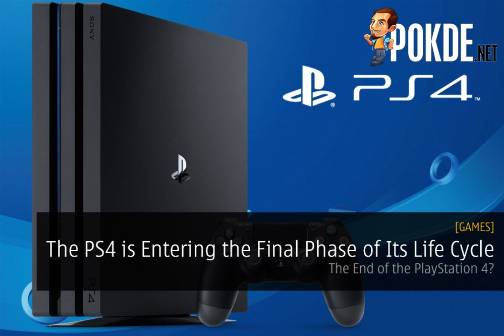 The PS4 is Entering the Final Phase of Its Life Cycle PlayStation 4