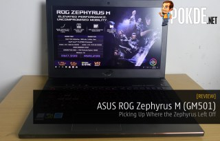 review ASUS ROG Zephyrus M (GM501) - Stylishly Thin Gaming Laptop