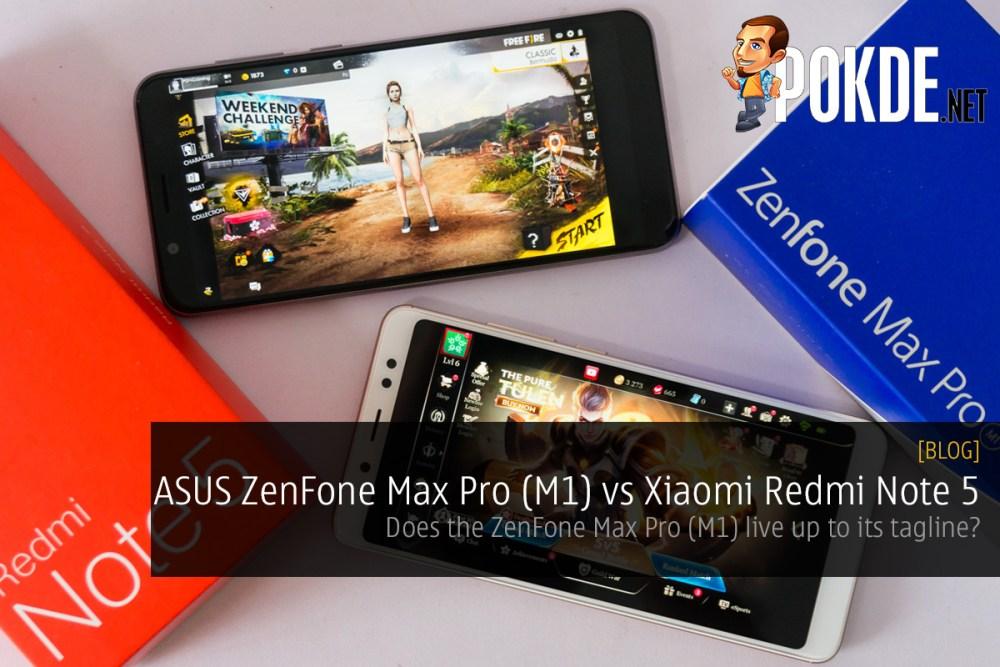 Asus Zenfone Max Pro M1 Vs Xiaomi Redmi Note 5 Will The Zenfone