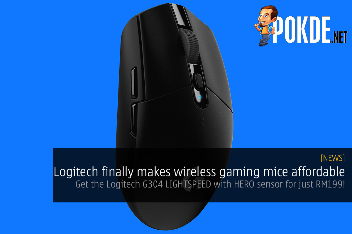 Logitech Finally Makes Wireless Gaming Mic Affordable Get The G Pro Hero Mouse G304 Lightspeed With Sensor For Just Rm199 Pokde