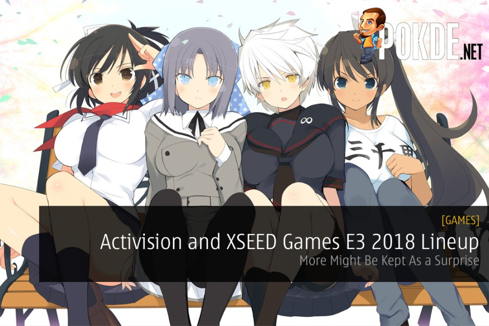 Activision and XSEED Games E3 2018 Lineup