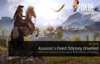 E3 2018: Assassin's Creed Odyssey Unveiled ubisoft