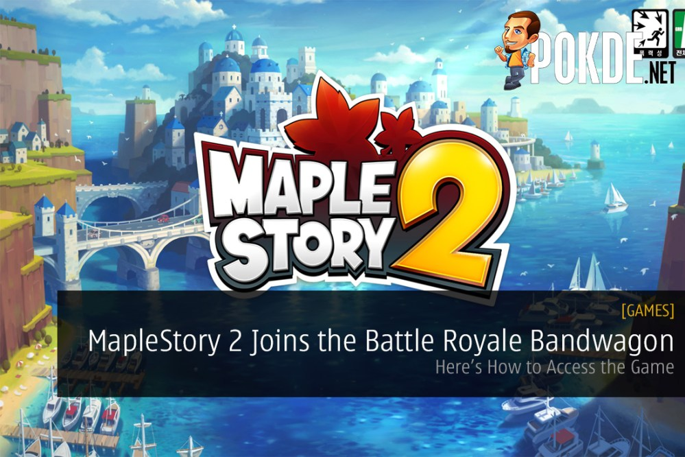 MapleStory 2 Joins the Battle Royale Bandwagon