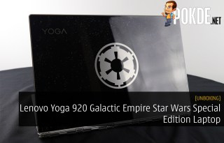 Unboxing the Lenovo Yoga 920 Galactic Empire Star Wars Special Edition Laptop