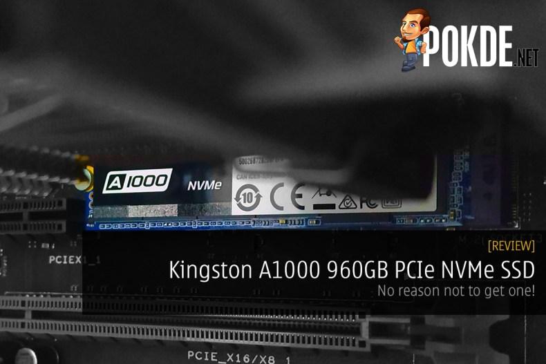 Kingston A1000 960gb Pcie Nvme Ssd Review Pokde