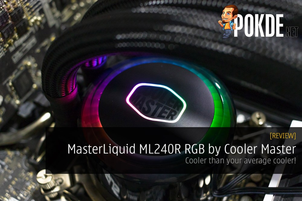 MasterLiquid ML240R RGB by Cooler Master Review — cooler