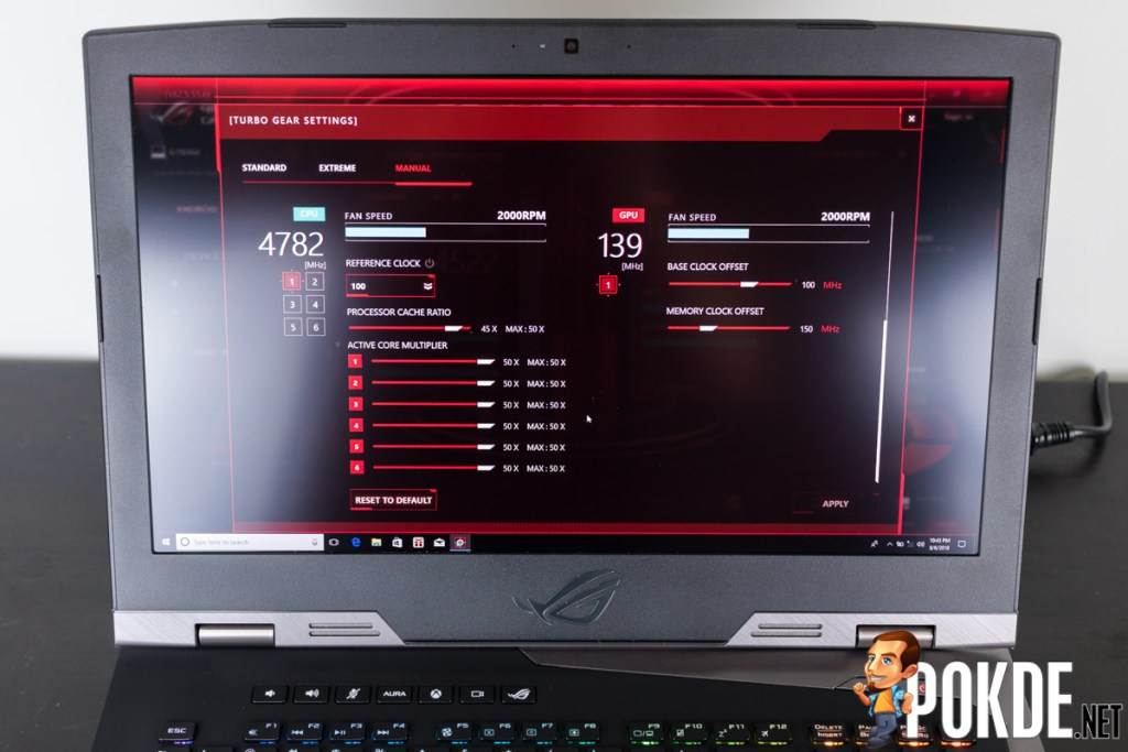 ASUS ROG Chimera G703GI review — blurring the lines between desktops and laptops 35