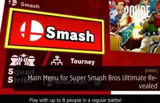 Main Menu for Super Smash Bros Ultimate Revealed
