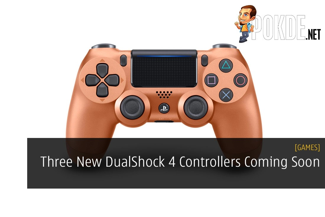 Three New Dualshock 4 Controllers Coming Soon Limited Stock At Ds4 Dual Shock Light Blue Model Launch Pokde