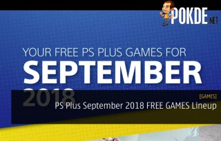 PS Plus September 2018 FREE GAMES Lineup