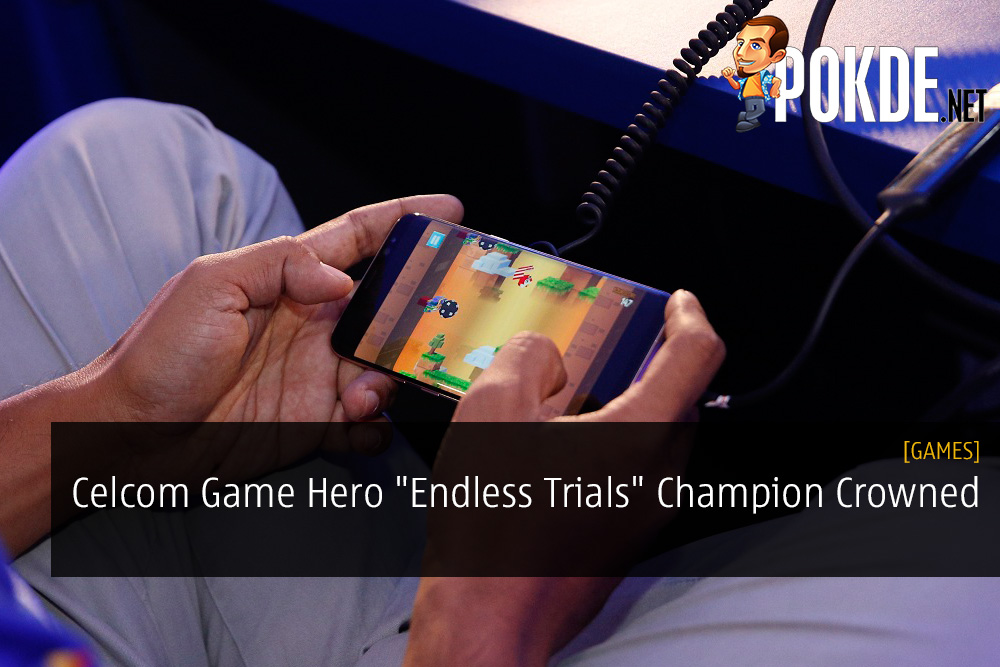 "Celcom Game Hero ""Endless Trials"" Champion Crowned"