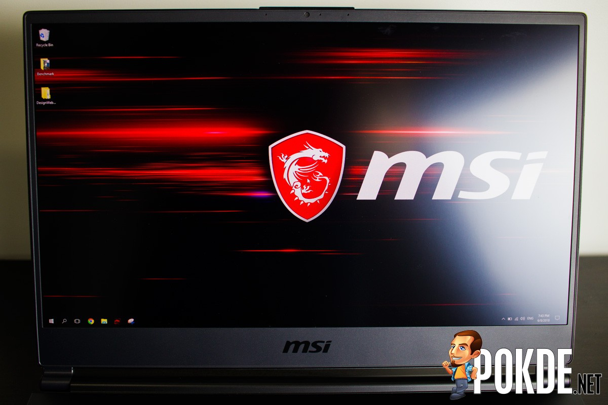 MSI GS65 Stealth Thin 8RF Review - The Golden Dragon with a