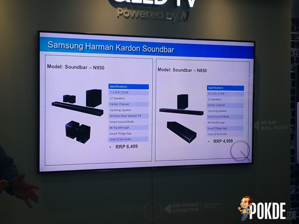 Hands-on: Samsung 2018 QLED TV and Harman Kardon Atmos