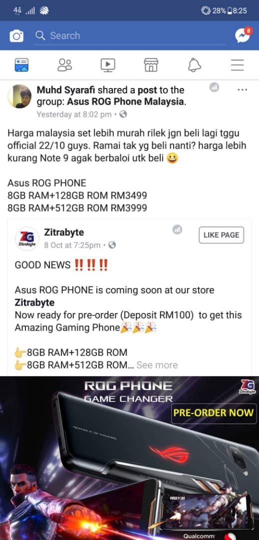 ROG Phone to be priced starting from RM3499 in Malaysia