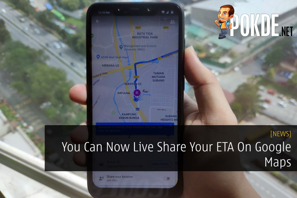 You Can Now Live Share Your ETA On Google Maps – Pokde