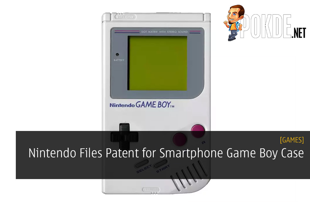 Nintendo Files Patent for Smartphone Game Boy Case