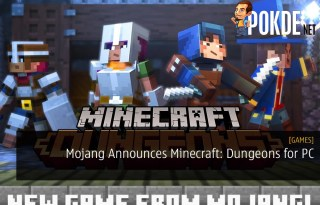 Mojang Announces Minecraft: Dungeons for PC
