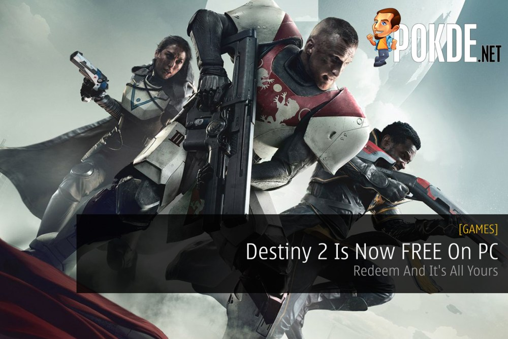 Destiny 2 Is Now FREE On PC — Redeem And It's All Yours – Pokde