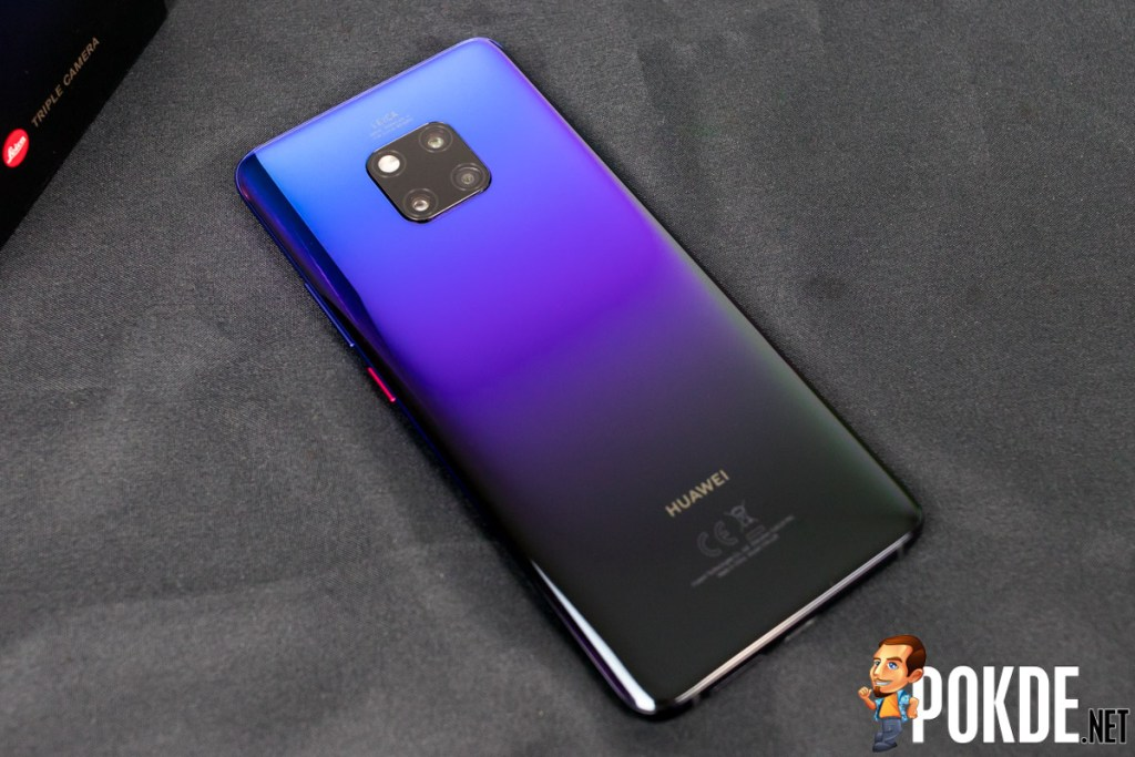 Huawei Malaysia Announces Price for Huawei Mate 20 Pro 8GB RAM Variant