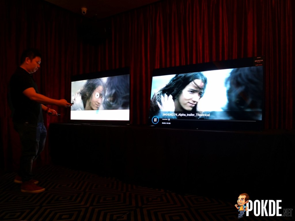 Hands-On: Sony MASTER Series A9F 4K OLED HDR TV Powered by Android