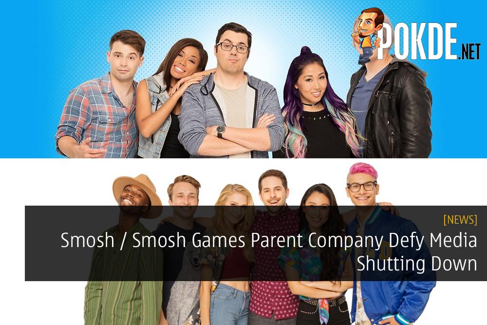 Smosh / Smosh Games Parent Company Defy Media Shutting Down